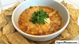 Crock Pot Creamy Chicken Taco Soup