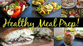 Healthy Meal Prep Ideas Breakfast - Snack - Lunch Recipes