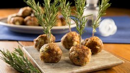 How To Make Rosemary Lamb Meatballs