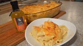 How To Bake Truffled Shells And Cheese Wine Country Kitchens With Kimberly