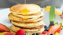 Cottage Cheese Pancakes - Breakfast Recipe