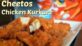 Crispy Chicken Fingers  Cheetos Chicken  Kurkure crusted Chicken Pakora