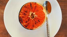 Dessert Recipe- Bruleed Grapefruit