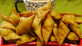 Methi Shankarpali - Quick and Easy Indian Snacks