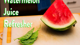Watermelon Juice Summer Refresher