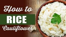 Blendtec Vs Vitamix- How To Rice Cauliflower
