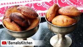 Tel Pithaa Ghilaa Pitha - Delicious Rice Fritters - Assamese Bihu Delicacies