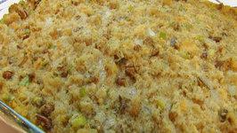 Betty's Pecan-Sage Cornbread Dressing -Thanksgiving