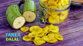 Yellow Banana Chips, Banana Wafers, Raw Banana Wafers