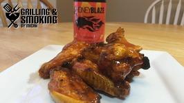 Wings Wednesday - Honey Blaze Wings