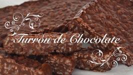 Turron de Chocolate Casero Receta Thermomix  Turron Thermomix  Turron de Chocolate Thermomix