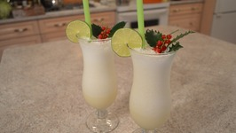 How to Make Santa Claus Melon Smoothies Christmas in July