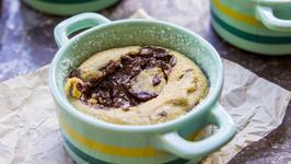 Chocolate Chip Cookie Lava Cakes