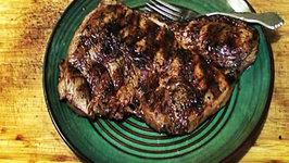 Fish Sauce Marinated Top Sirloin Steak Infrared Grilled