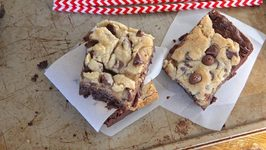 How to Make Chocolate Chip Cookie Brownies