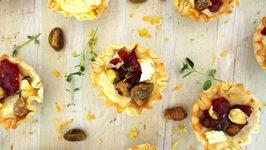 Appetizer Recipe- Mini Brie And Cranberry Bites