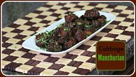 Cabbage Manchurian - Evening Snack Recipe