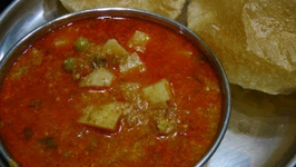 Aloo Matar Curry - Indian Recipe