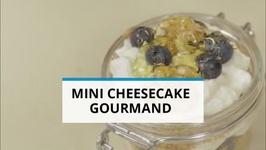 Goûter gourmand  le mini cheesecake