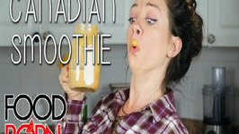 Food Porn - Fall Canadian Smoothie Recipe