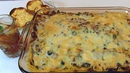 Betty's Layered Spaghetti Casserole