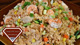 Easy Homemade Shrimp And Chicken Fried Rice  Better Than Take-Out