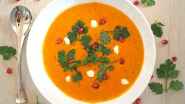 Soup Recipe- Moroccan Spiced Butternut Squash Soup
