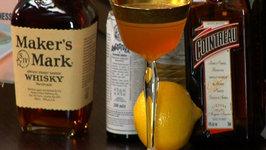 Bourbon Crusta Cocktail