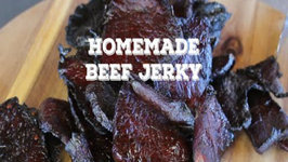 Homemade Beef Jerky - On the the Traeger Grill
