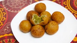 Farali Petis Kachori for Upvas Vrat  Fasting Recipe  Stuffed Potato Balls