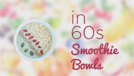 How to in 60 seconds Strawberry smoothie bowl