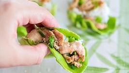 Chicken Bulgogi Lettuce Wraps - Super Quick Dinner