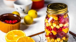 Chana Fruit Salad Recipe - Quick and Easy