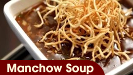 Manchow Soup  Indo - Chinese Soup Recipe  Ruchi's Kitchen