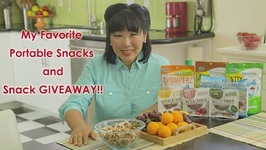 My Favorite Portable Snacks and FREE GIVEAWAY SNACKS!