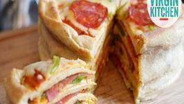 How To Make A Homemade Pizza Cake