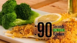 90 Second Herb Encrusted Fish