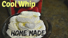 Home Made Cool Whip - 5 Minute Whipping Cream from Heavy Cream