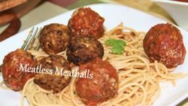 Meatless Meatballs - Tofu Mushrooms Balls