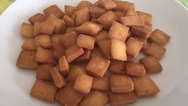 Easy Shankarpali Recipe (Shakkar Para)  Diwali Snacks