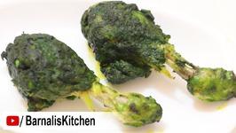 Hariyali Chicken drumsticks - Green Chicken Drumsticks Recipe - Palak Chicken