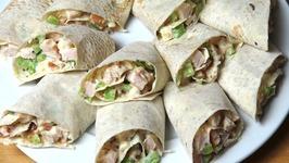 Chicken Salad Sandwich Scrolls