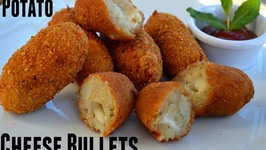 Potato Bullet- Potato Crosscurrents-Party Appetizer