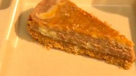 Orange is the New Black Chocolate Orange Cheesecake