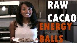 Raw Vegan Cacao Energy Balls