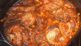 Jamacian Brown Stew Chicken
