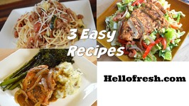 Beef, Tomato and Garlic Ragu Pan Seared Pork Chopped Chicken Salad HelloFresh