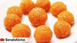 Motichoor Ladoo Recipe - Perfect homemade Motichur Ladoo - Indian sweets - Ganesh chaturthi