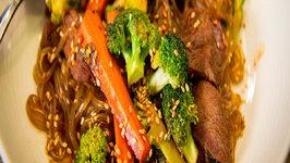 Blue Apron Korean Stir-Fried Beef Chapchae