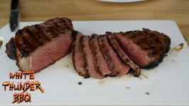 How To Grill A Steak NY Strip Steak With A Compound Butter- BBQ Basics